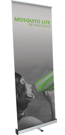 retractable banner stands roll up banners full color no set up fees