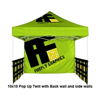 sc 1 st  Firefly Graphics & 10u0027 x 10u0027 Pop Up Tent Backwall - Full Color Print - $189