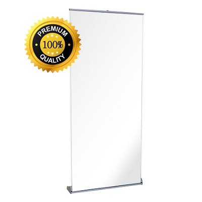 "35.5""w x 83.25""h Premium Retractable Banner Stand"