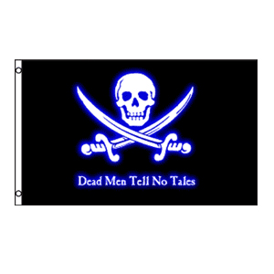 Dead Men Tell No Tales Flag 3' x 5'