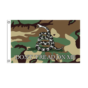 Don't Tread On Me (Camo) Flag 3' x 5'