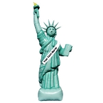 18ft Statue of Liberty Balloon Inflatable Package
