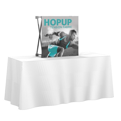 1x1 Hop-Up Table Top Display