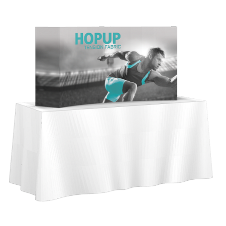 2x1 Hop-Up Table Top Display