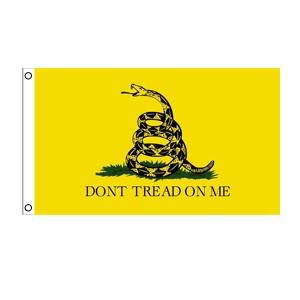 Don't Tread On Me (Yellow) Flag 3' x 5'