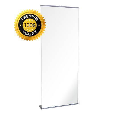 "31.5""w x 83.25""h Premium Retractable Banner Stand"