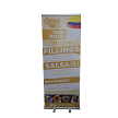 "Full Color 33.5"" wide Economy Bannerstand"